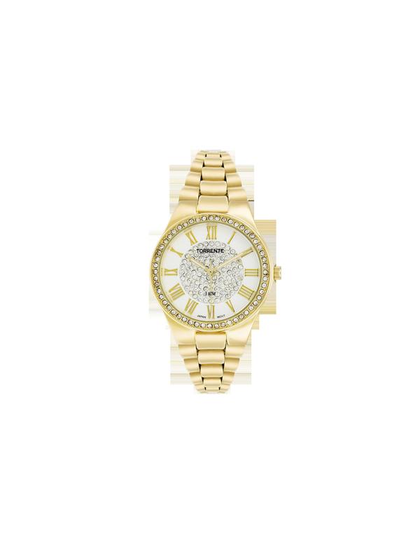 L 39 or de torrente 100ml et montre femme torrente d cor or for Montre decoration