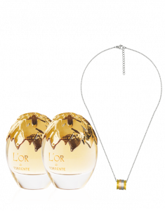 2 Perfumes L'OR + necklace 109€